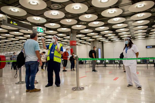 ESP: Temperature Control At Madrid Airport