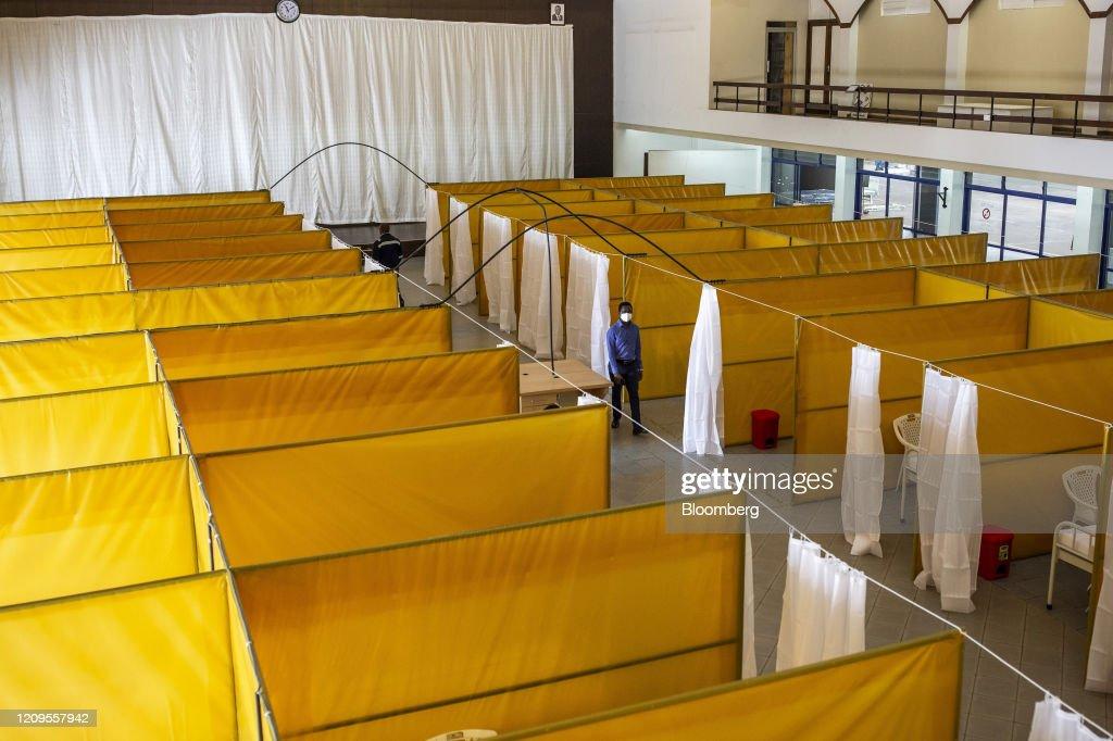 Aga Khan Hospital Prepares For Coronavirus Patients : News Photo
