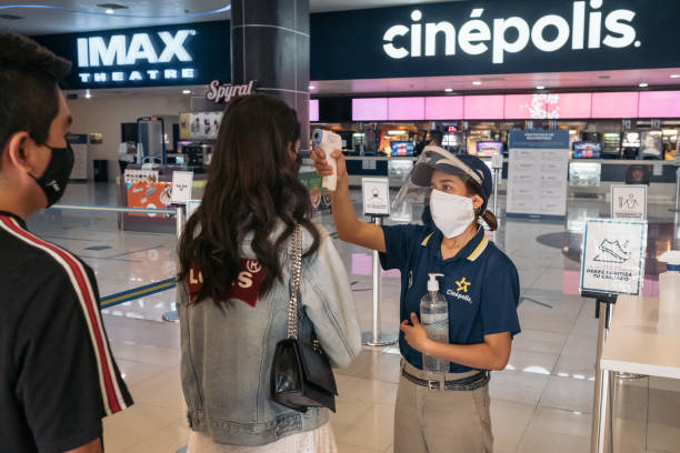MEX: Movie Theaters Reopen In Mexico City