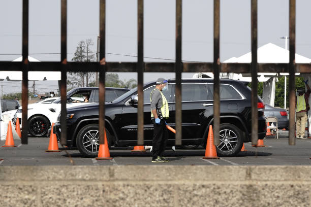 CA: Long Lines Outside Covid-19 Testing Sites As California Hits Record Infections