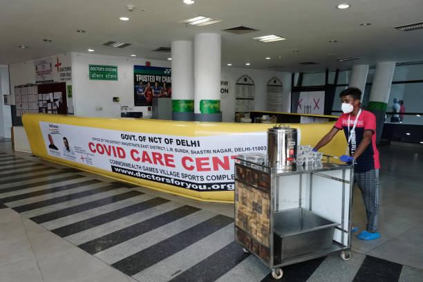 IND: Commonwealth Games Village Sports Complex Converted Into Covid-19 Care Centre