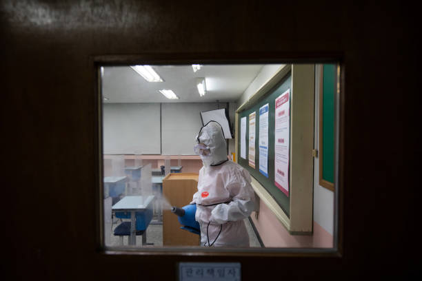 KOR: School Disinfection Ahead of College Entrance Exam