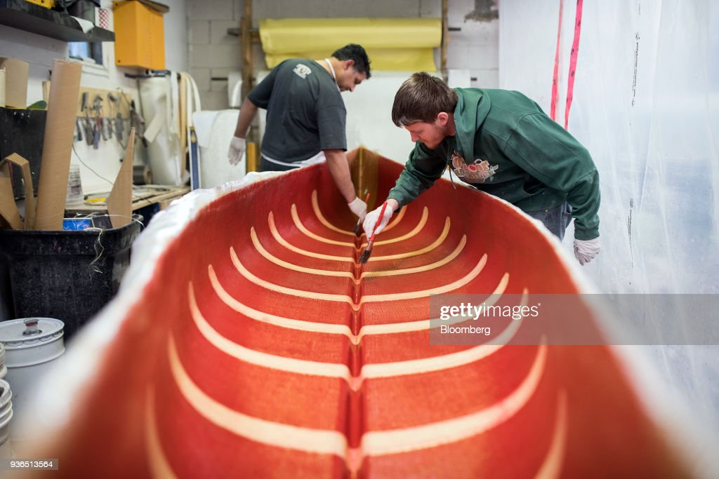 Inside The Holy Cows Canoes Production Facility Ahead Of GDP Figures
