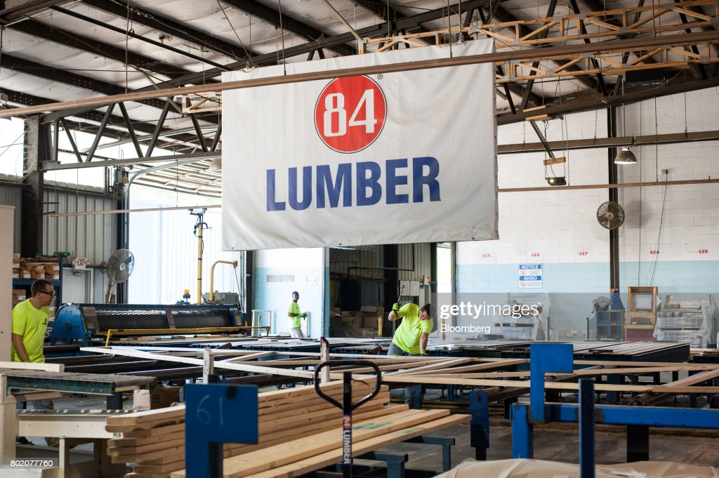 84 lumber wants to make blue collar careers great again news photo - 84 Lumber Roof Trusses