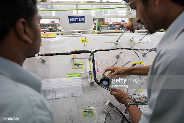 Motherson sumi systems ltd stock photos and pictures