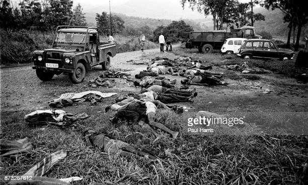 Workers at a tea estate massacred when they showed up at work because they where cooperating with the white regime by showing up for work The history...