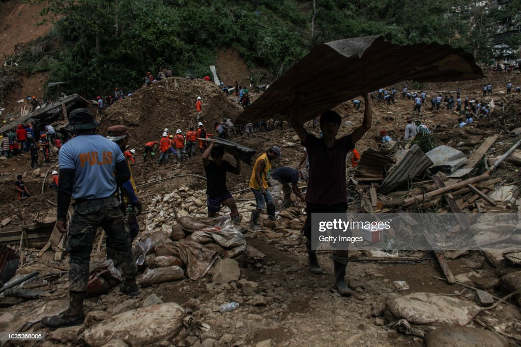 Super Typhoon Mangkhut Batters The Philippines : News Photo
