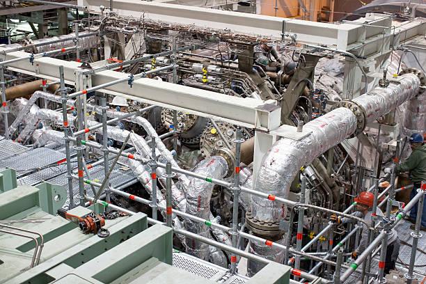 Photos et images de Inside The General Electric Gas Turbine