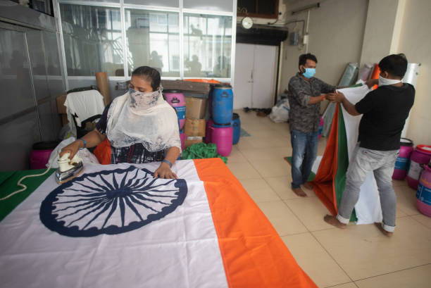 IND: Preparations Ahead Of 74th Independence Day Celebrations
