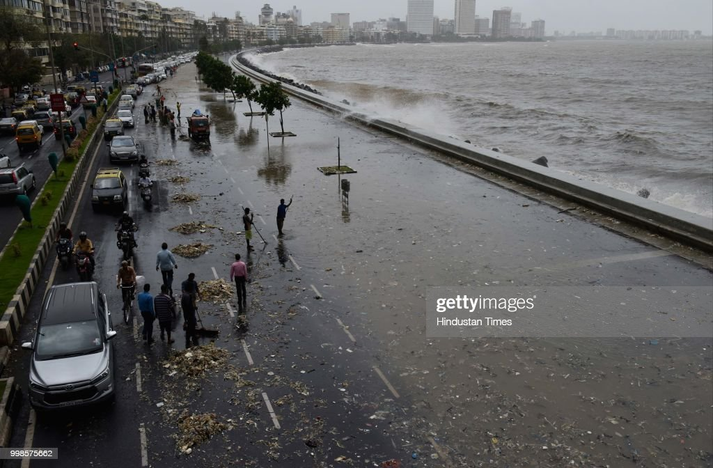 High Tide In Mumbai