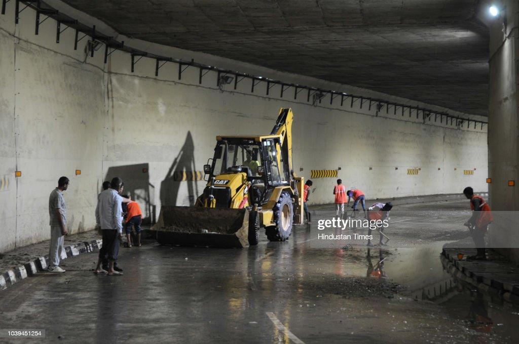 Incessant Rains Lash Parts Of Delhi-NCR, Lead To Waterlogging And Traffic Jams