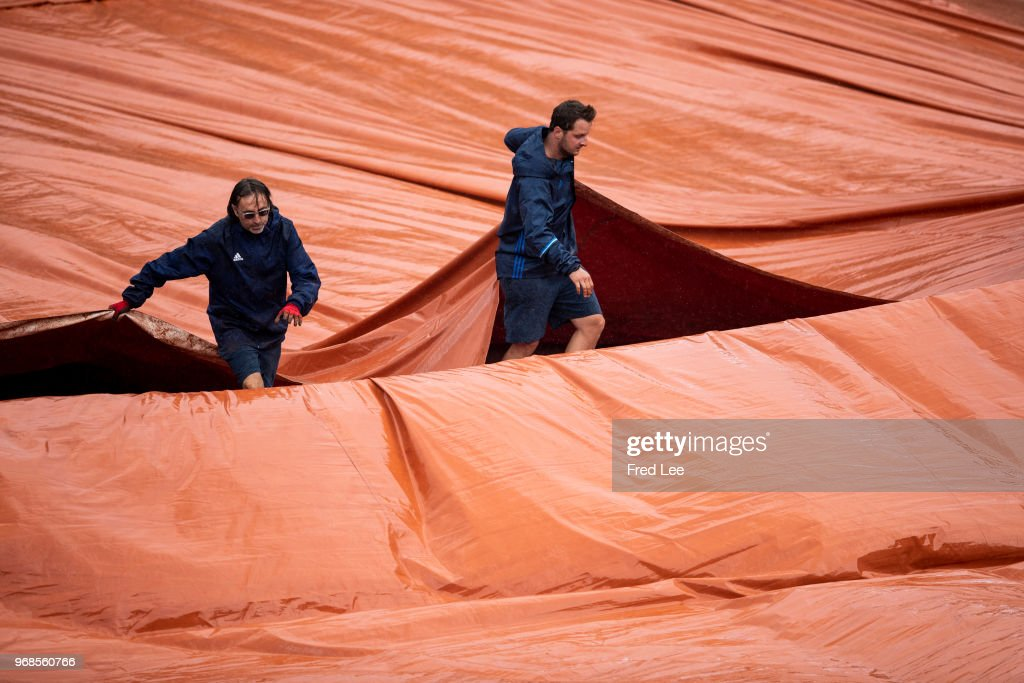 2018 French Open - Day Eleven : Photo d'actualité