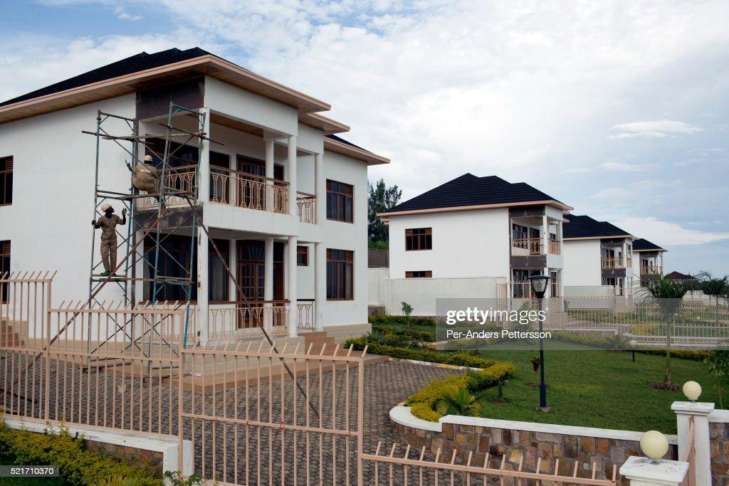 Economic boom in Kigali, Rwanda : News Photo