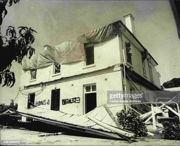 Workers from Builders Labourers Federation occupied building of Helen Keller Hostel in Wood Ave Woollahra which The Royal Blind Society is trying...