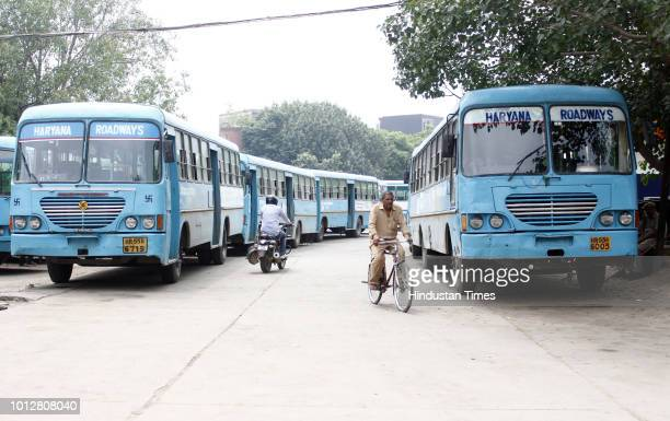 Workers from Haryana Roadways have gone on strike over the transport department's proposal to introduce 700 private buses to their fleet on August 7...