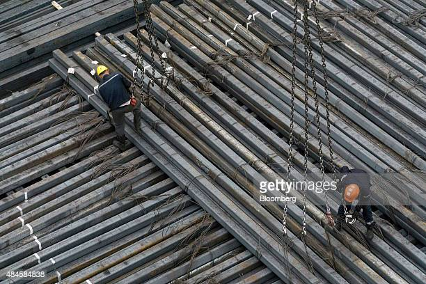 160 Steel Billets Photos And Premium High Res Pictures Getty Images