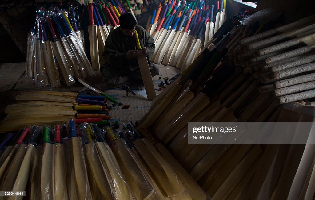 Kashmir Hoping To Increase Exports Of Cricket Bats On The Back World Cup