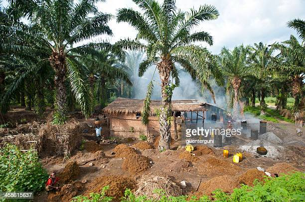Workers in a palm oil production, Burundi