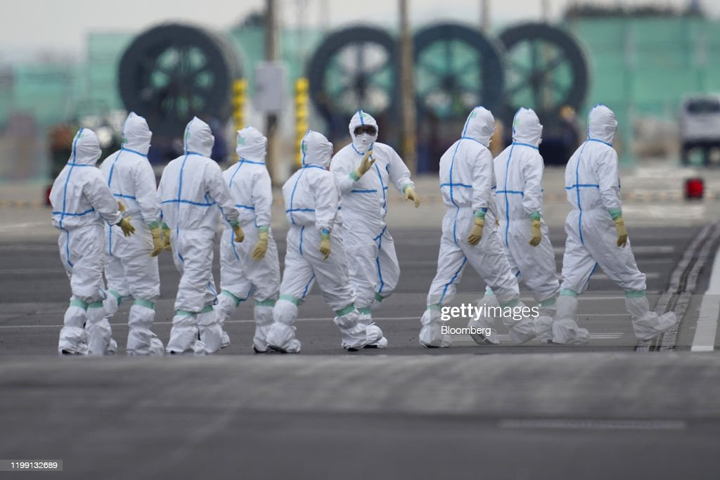 Japan Finds 41 More Cases of Coronavirus on Cruise Ship : News Photo