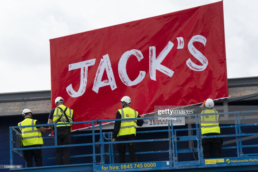 Tesco Plc Launches 'Jack's' Discount Store Chain