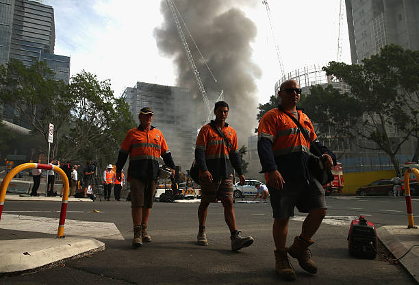 Sydney Fire Saved By Emergency Lighting