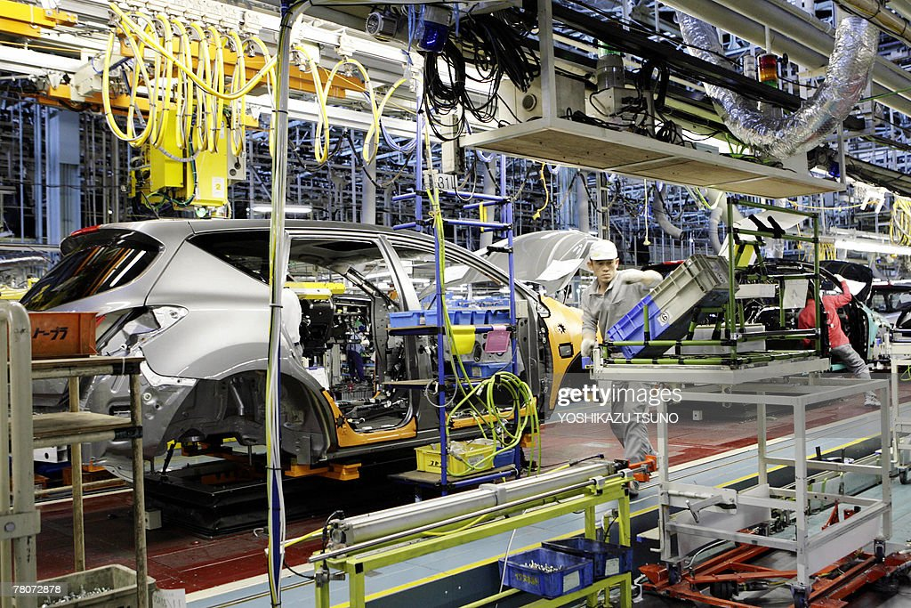 Workers of Japan\'s auto giant Nissan Mot Pictures   Getty Images
