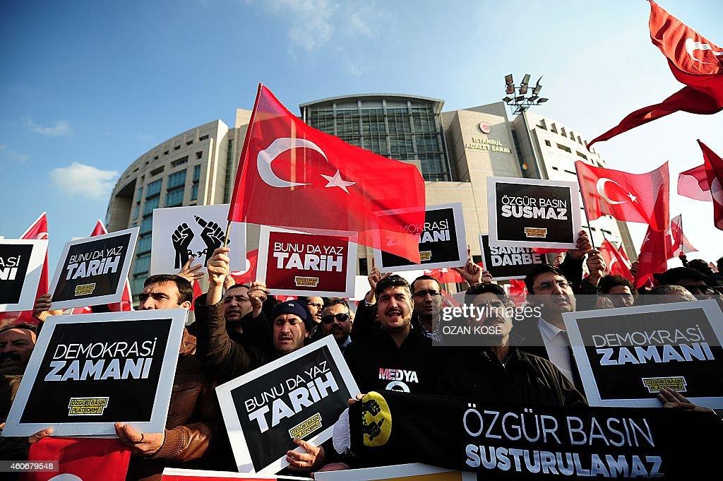TURKEY-POLITICS-MEDIA-ARREST : ニュース写真
