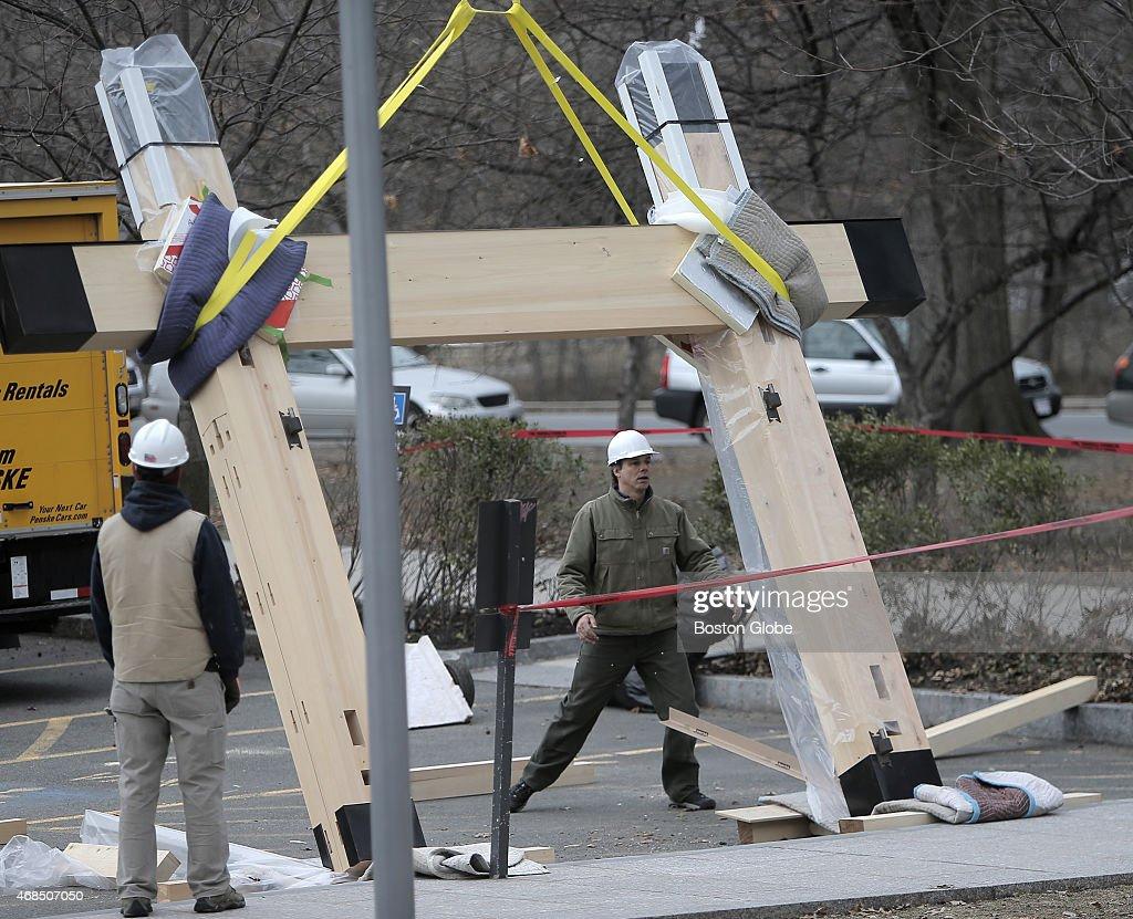 MFA's Japanese Garden Receives New Gate : News Photo