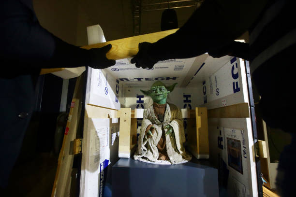 SGP: Uncrating Yoda For The Star Wars Identities: The Exhibition