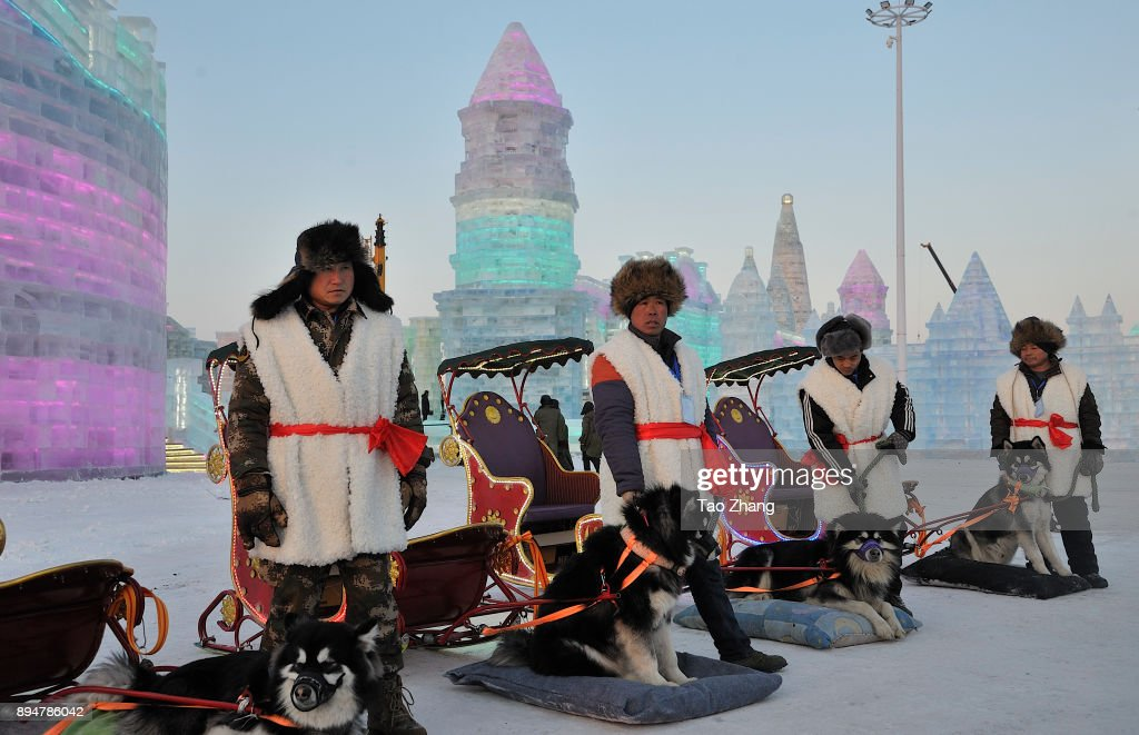 Harbin Ice & Snow World Begins Trial Run