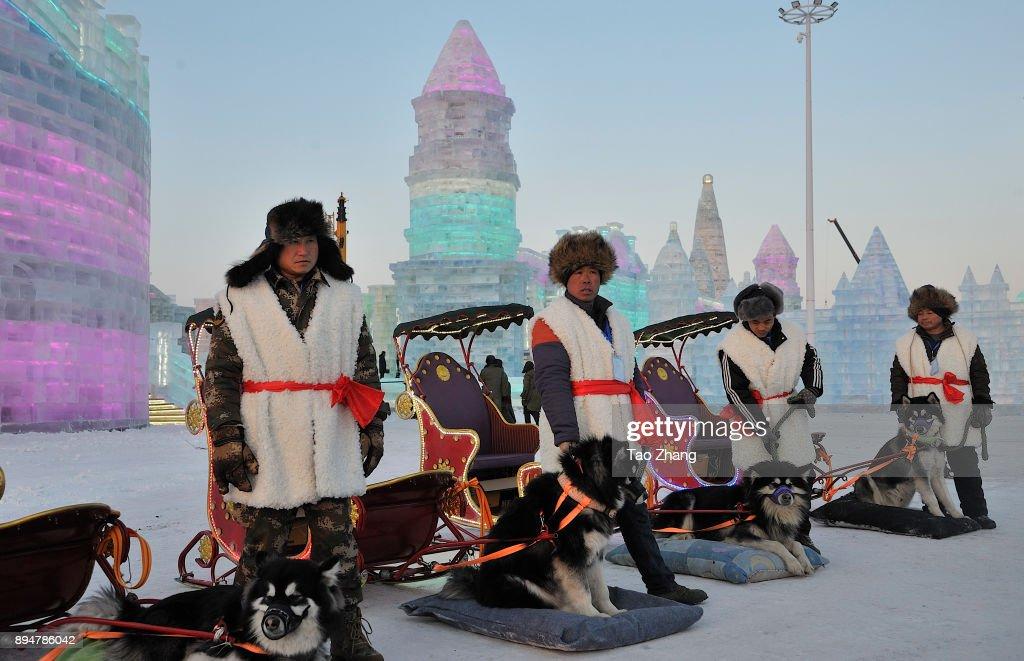 Harbin Ice & Snow World Begins Trial Run