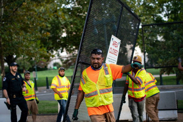 DC: Capital Fencing Comes Down After J6 Rally