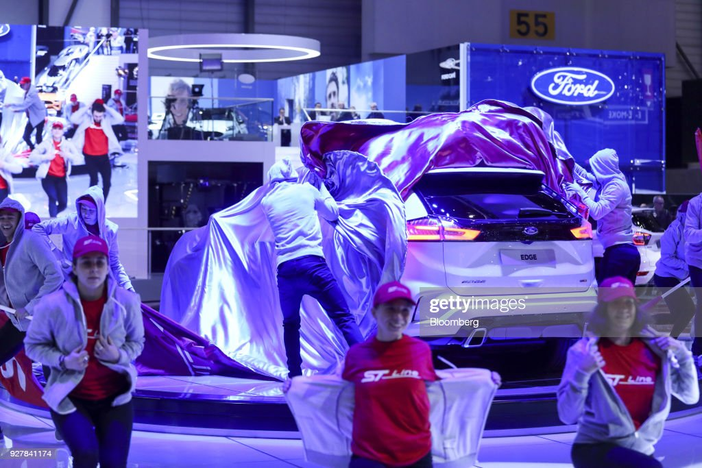 Opening Day Of The 88th Geneva International Motor Show