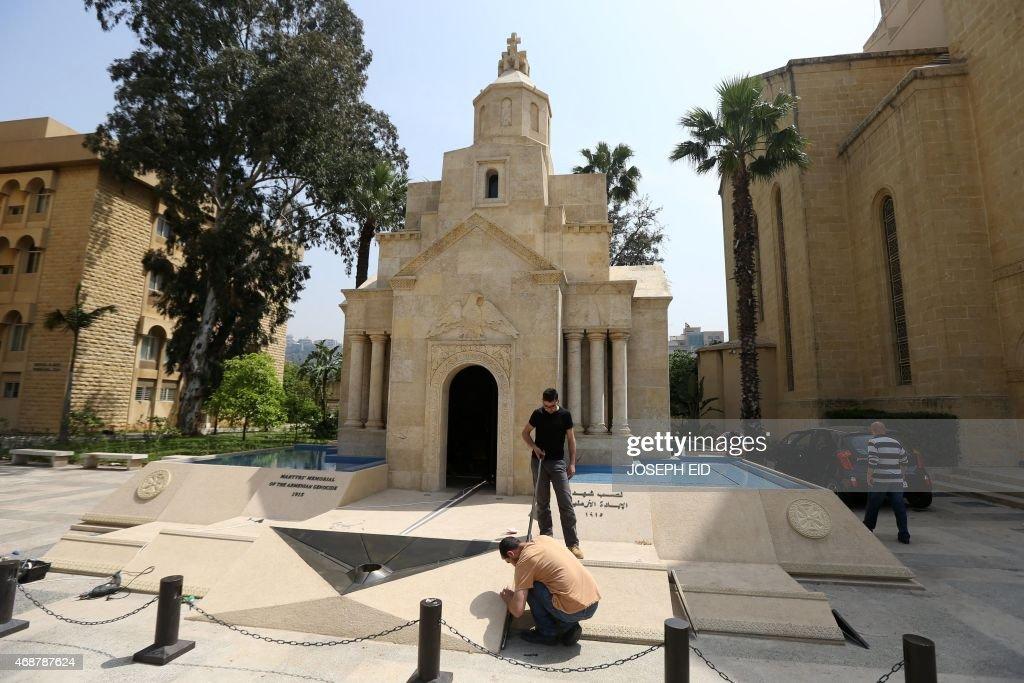 LEBANON-ARMENIAN-GENOCIDE-ANNIVERSARY : News Photo