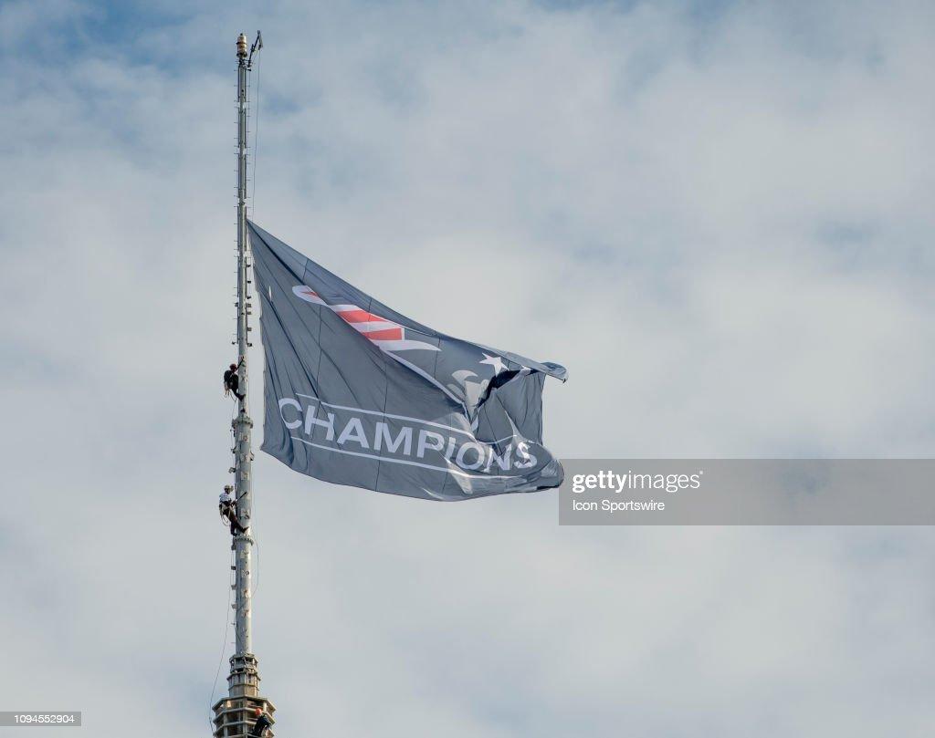 NFL: FEB 05 Patriots Super Bowl Victory Parade : News Photo