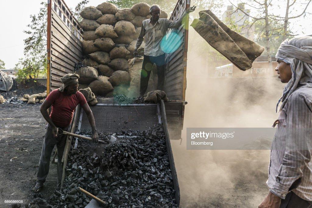 Coal Warehouses In The Capital : News Photo