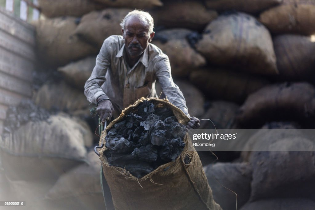 Coal Warehouses In The Capital : News Photo