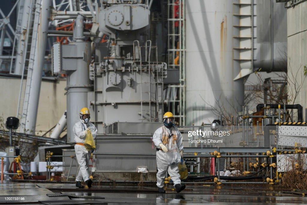 A Look At TEPCO's Dai-ichi Nuclear Power Plant In Fukushima : ニュース写真