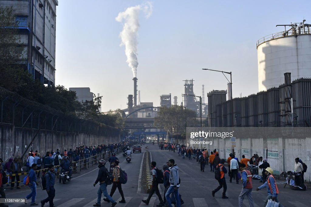 IND: Daily Life Around The Tata Steel Factory As India's Oldest Steelmaker Shifts Focus To India