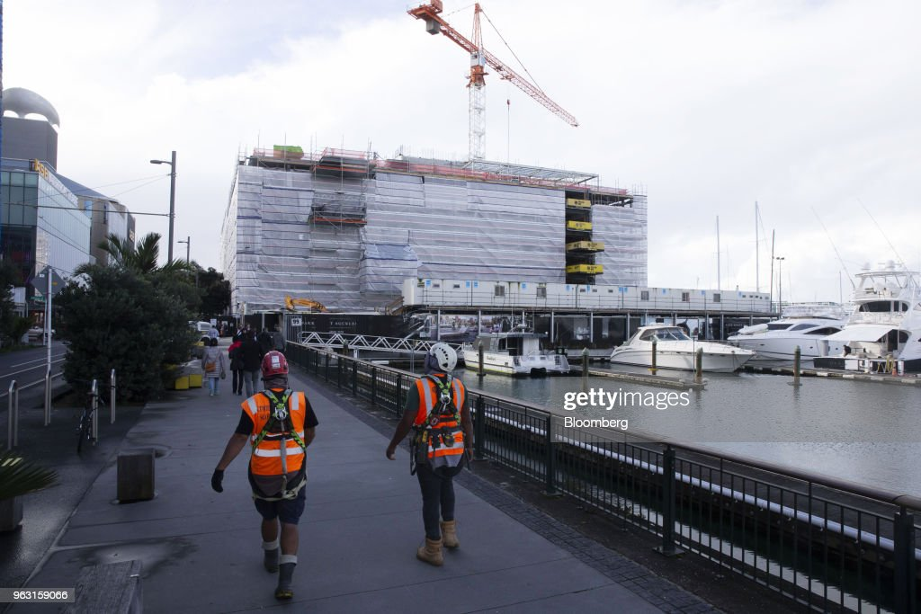 Construction of the Park Hyatt Auckland as New Zealand Goes Cool on Migrants Just When It Needs Them Most