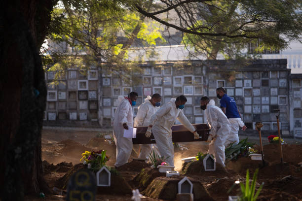 BRA: The Vila Formosa Cemetery As Brazil Continues Seeing Record Covid-19 Deaths