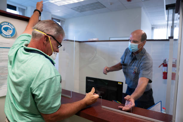 OH: Plexiglass Shield Installation As Demand For Production Increases