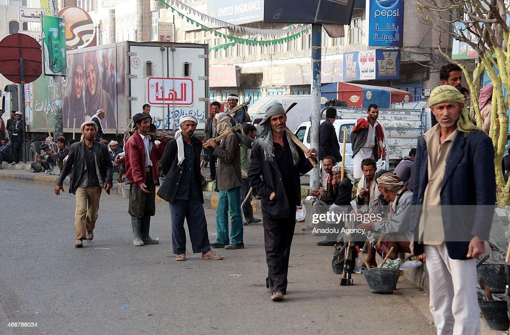 Unemployed People of Yemen : News Photo