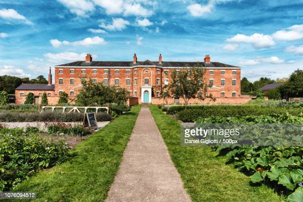 workhouse in southwell - workhouse stock photos and pictures
