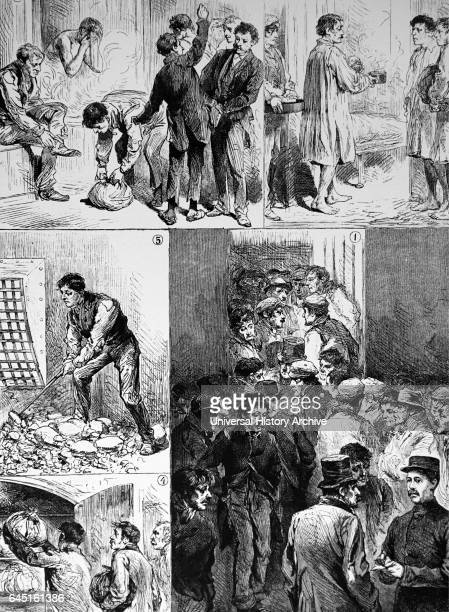 Workhouse The 'Casual Ward' of a London workhouse The men would receive a night's food and shelter and if physically fit would have to break a given...