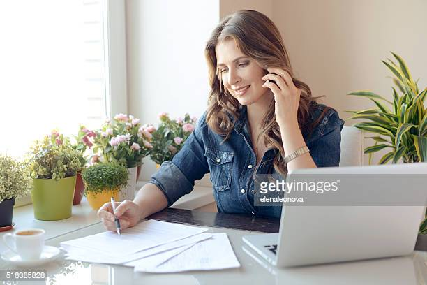 working at home - form filling stock pictures, royalty-free photos & images
