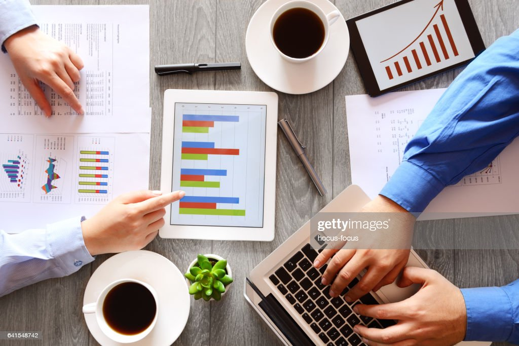 Working business people : Stock Photo