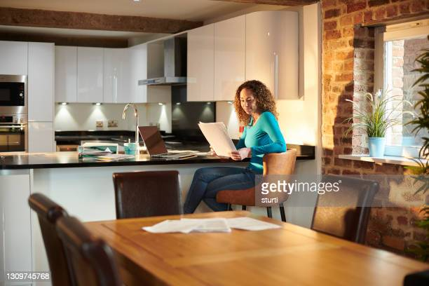 working from home - business finance and industry stock pictures, royalty-free photos & images