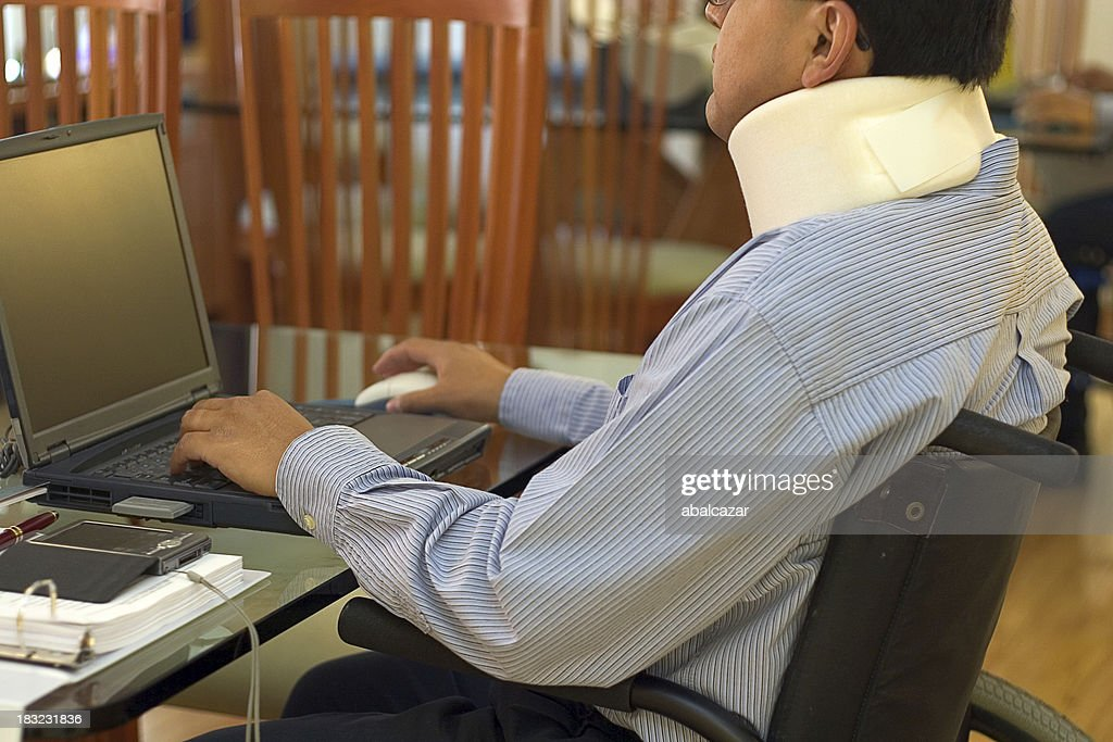 working from home : Stock Photo