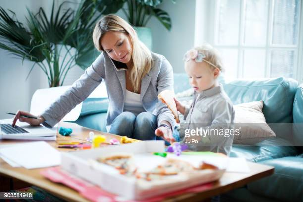 working from home - busy stock pictures, royalty-free photos & images